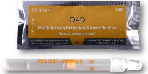 Detecting Drug Residue