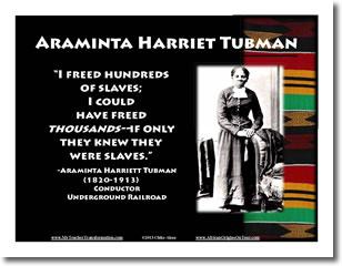 harriet tubman poster buy black