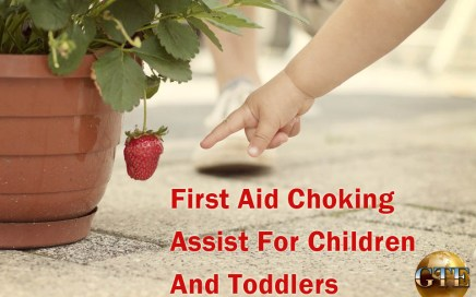 First Aid Choking Assist For Children