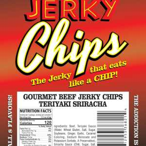 Jerky chips