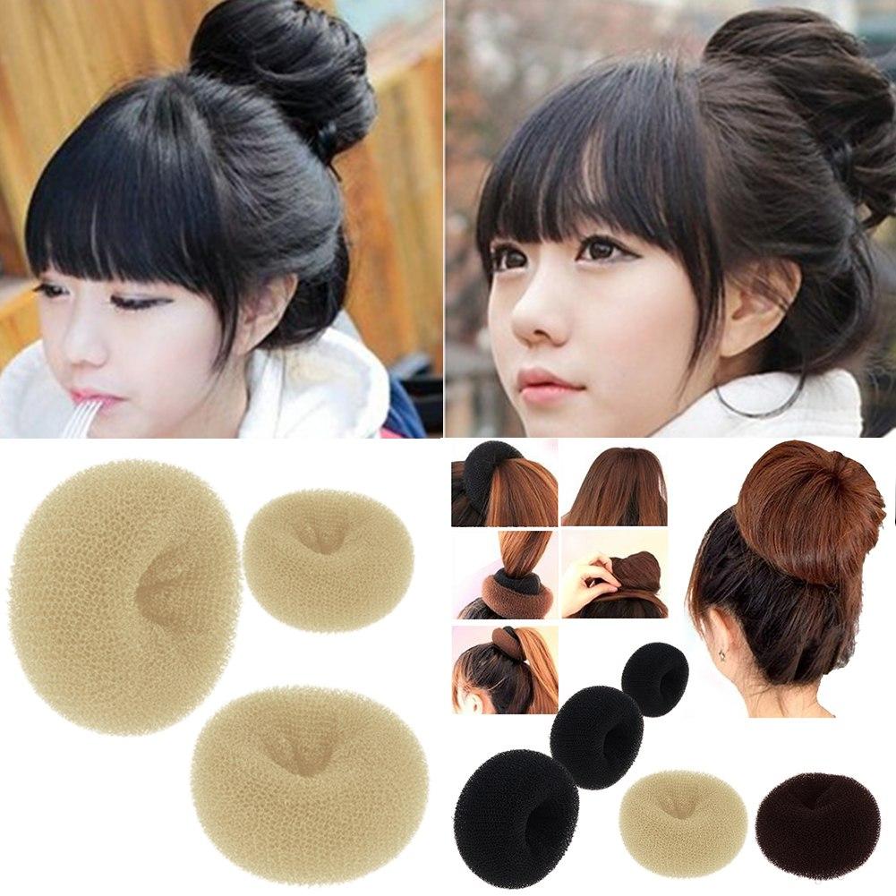 Donut Bun Ring Shaper Hair Styler Maker Hairdressing