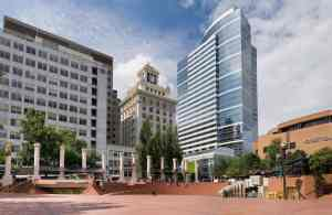 Downtown Portland - Pioneer Courthouse Square