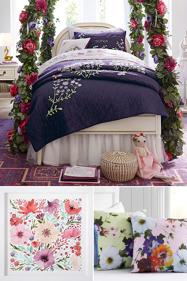 Butterfly Garden Bedroom Theme
