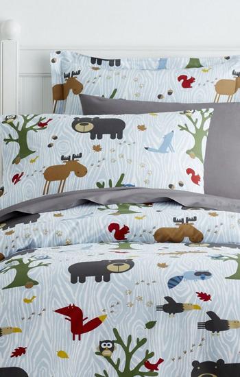 Woodland Kids Bedding