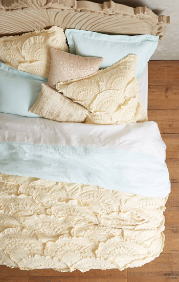 Anthropologie Rivulets Home Bedding Quilt