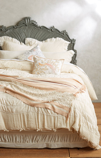 Anthropologie Toulouse Bed Set