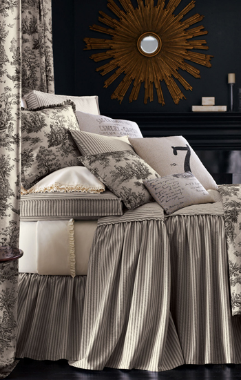 French Laundry Home Sydney Toile Bedding