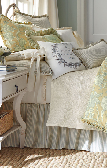 French Laundry Home Victoria Toile Bedding