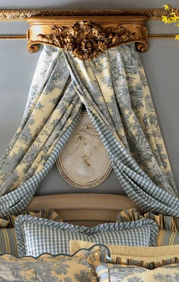 legacy lutece cypress toile bedding