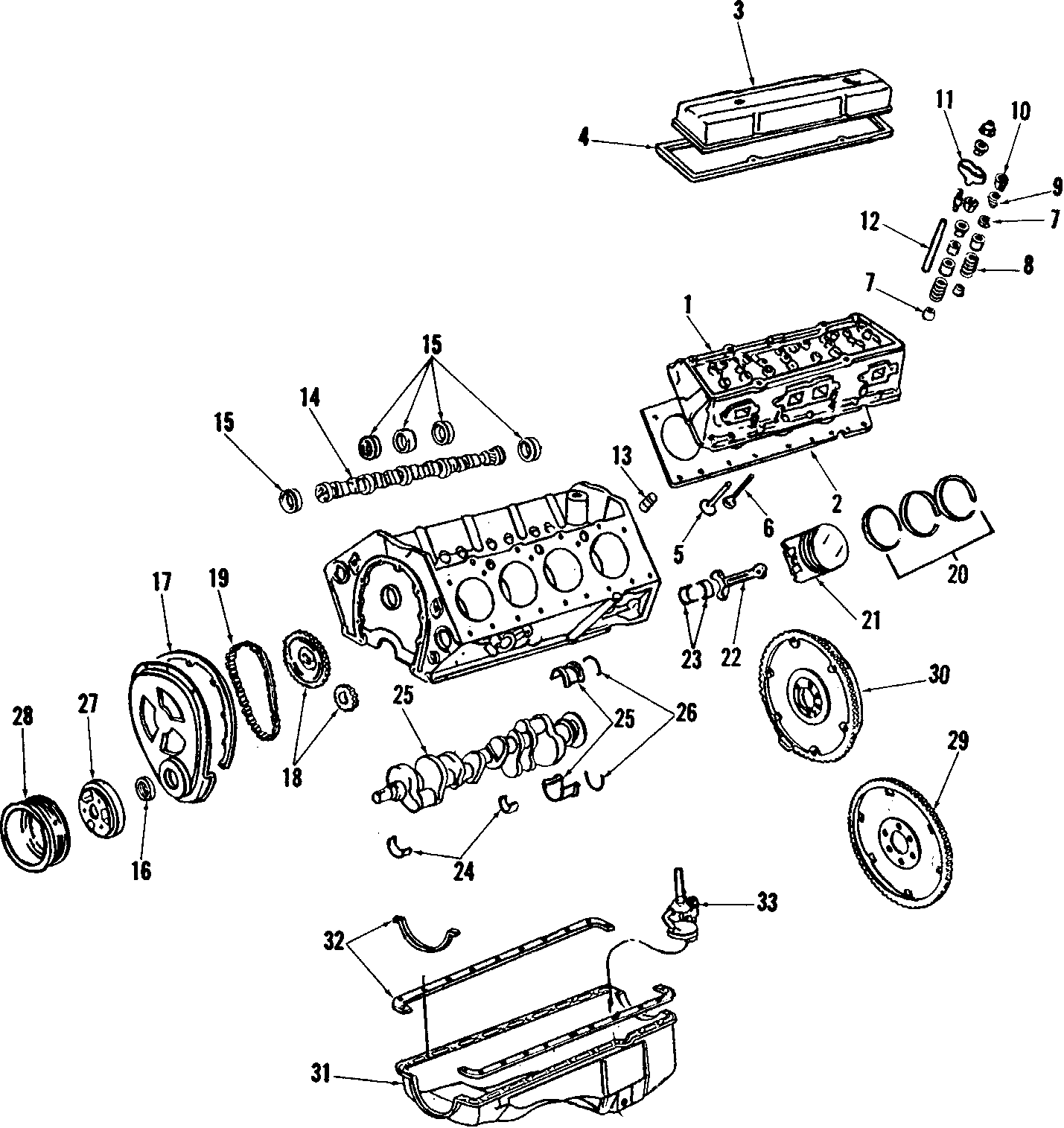 Chevrolet Corvette Engine Timing Cover Gasket Front