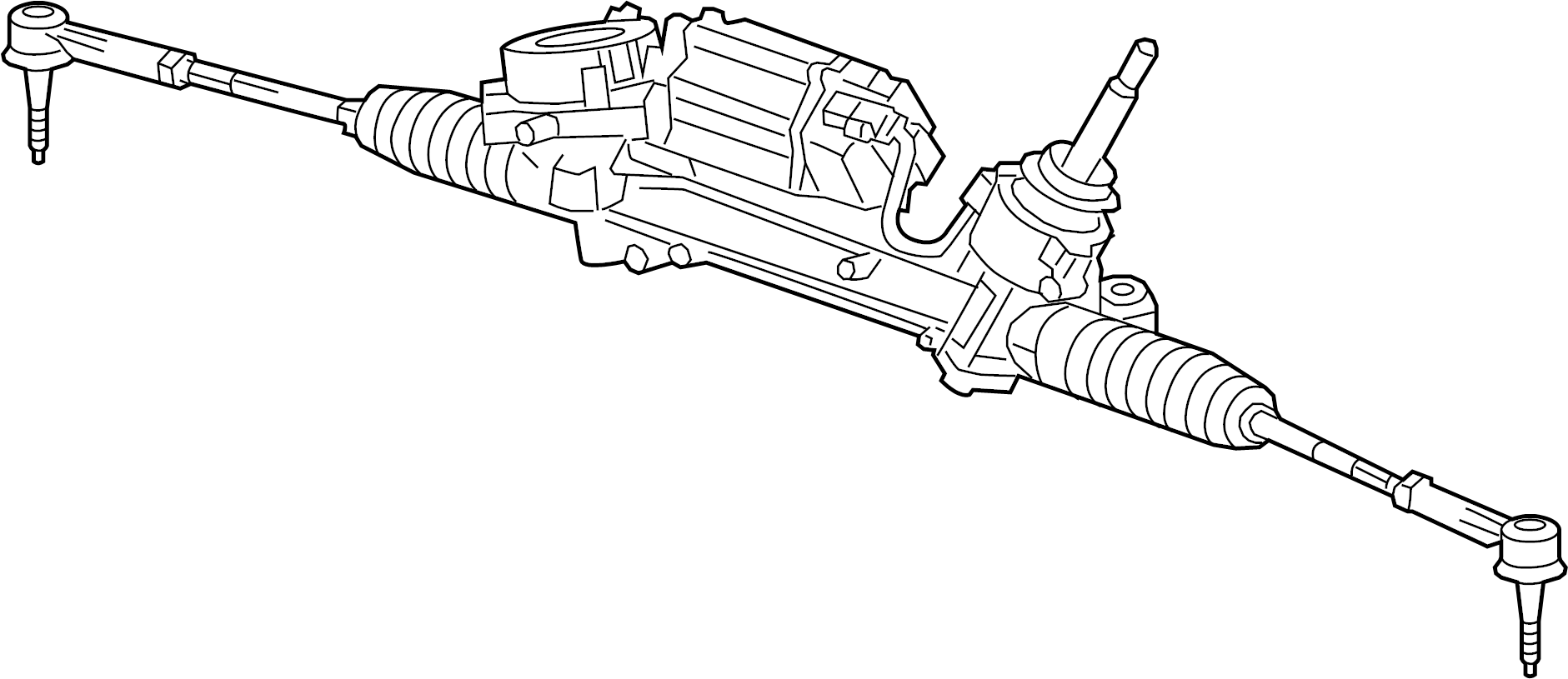 Buick Regal Rack And Pinion Assembly Steering Gear Make