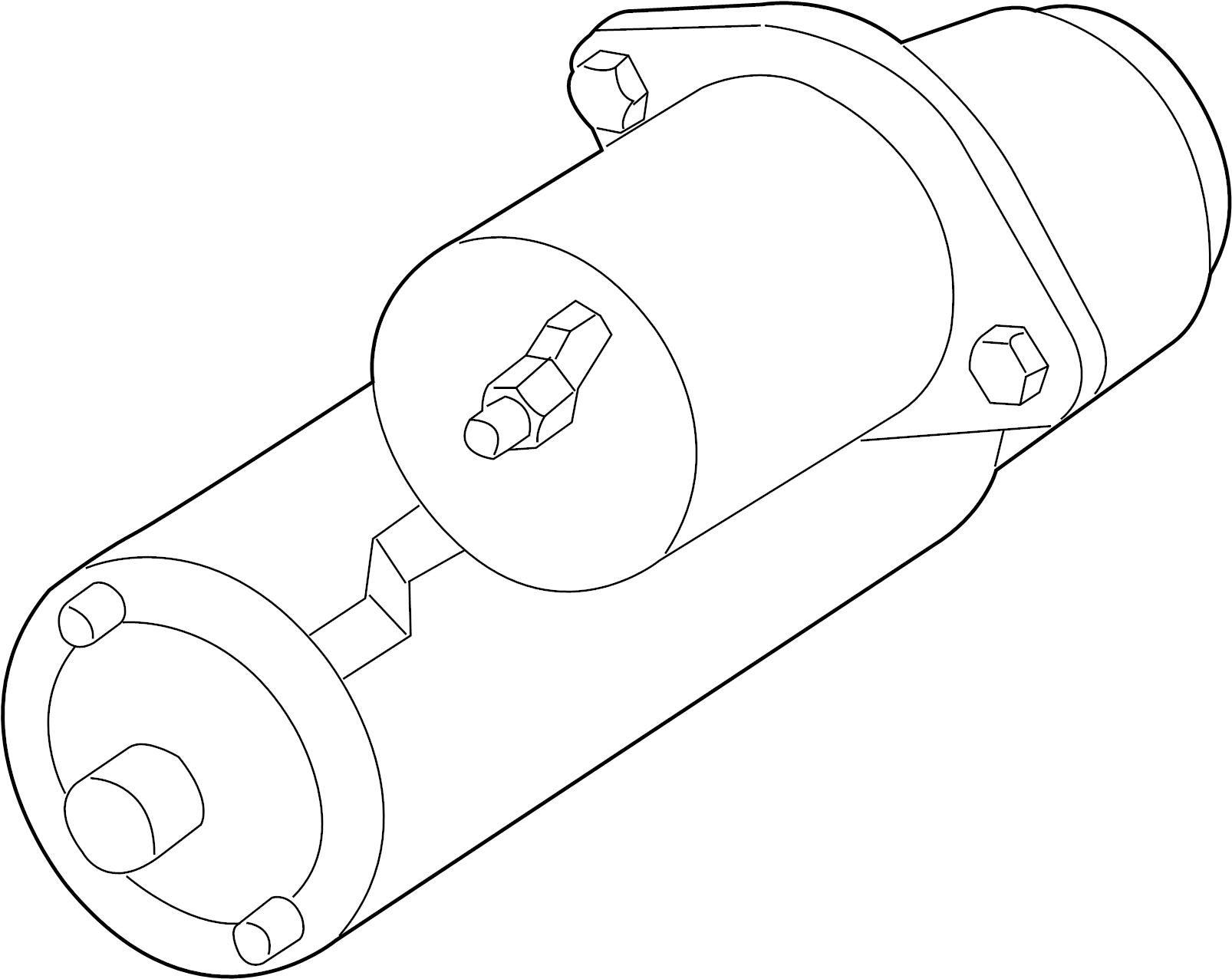Pontiac Bonneville Starter Motor Supercharger Liter