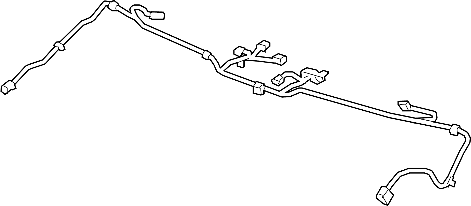Chevrolet Camaro Console Wiring Harness Convertible 2nd