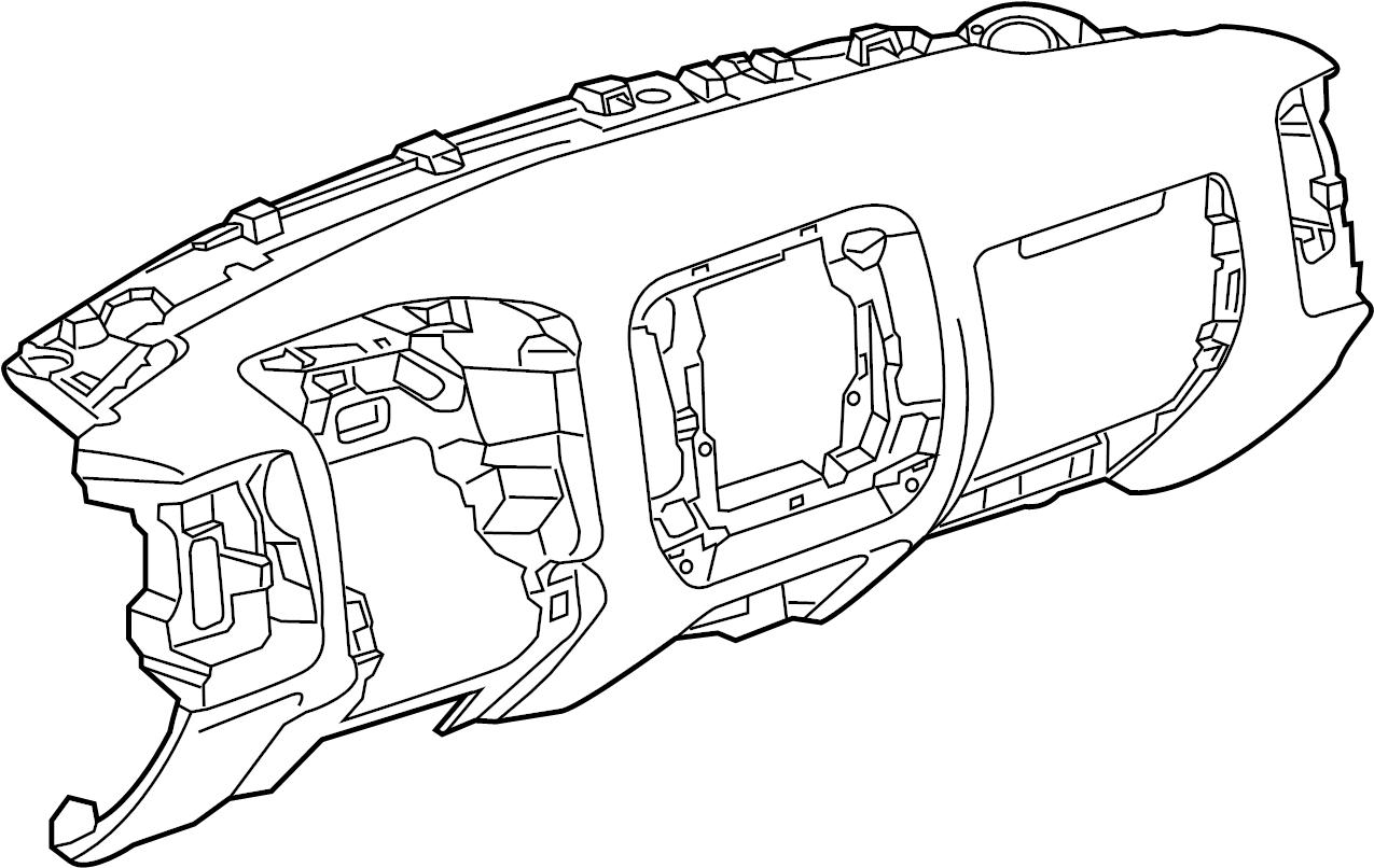 Gmc Sierra Dashboard Panel