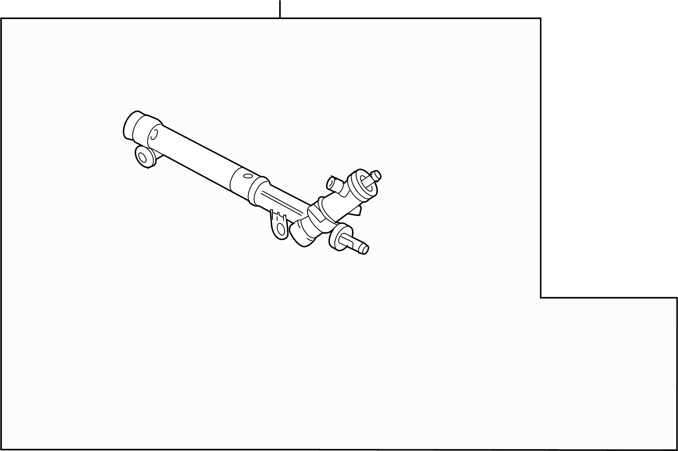 Saturn Vue Rack And Pinion Assembly