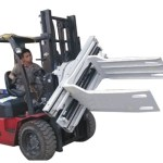 Bale Clamp Forklift Attachments Waste Paper Bale Clamp