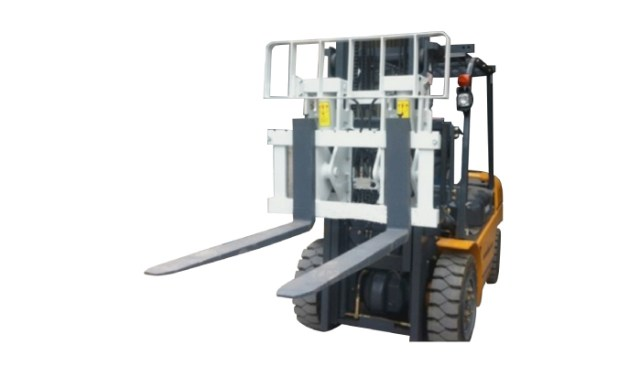 Hydraulic Attachments Hinged Fork Forklift