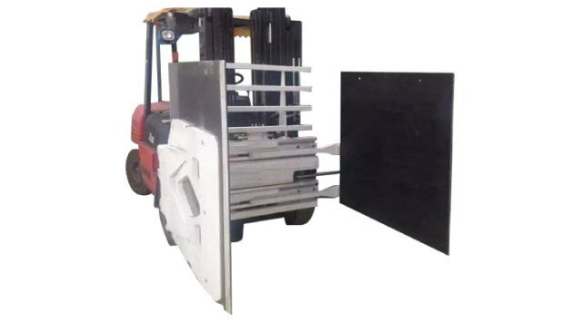 Doublewide carton clamps forklift attachments