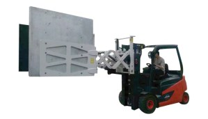 Forklift electronic home appliance paper carton clamps