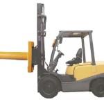 Heavy-Duty-Zubehör CM-Standard-Gabelstapler Teppich Boom Teppichstange für Gabelstapler