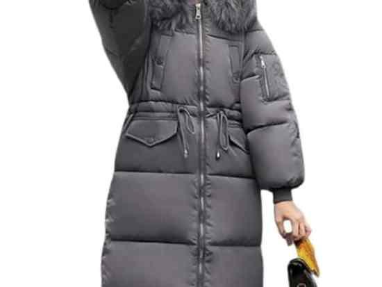 winter 2020 parka jacket women dark grey