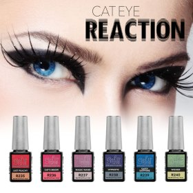 Gel II Cat Eye Reaction Collection