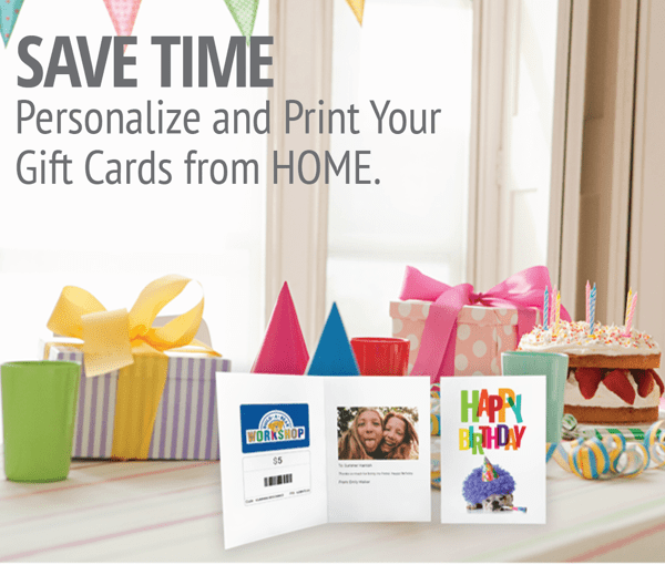 Shop now for gift cards