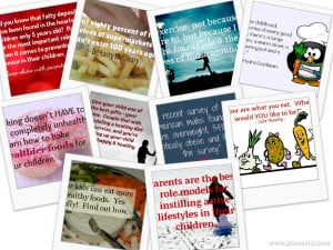 Healthy Families PLR Collage