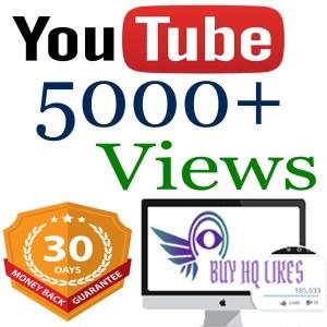 Buy 5000 YouTube Views