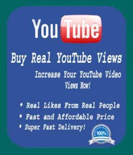 Buy Real YouTube Views and Likes