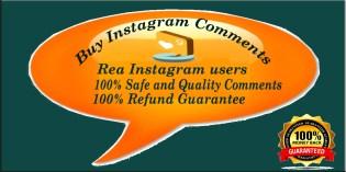 Buy 5 Instagram Comments
