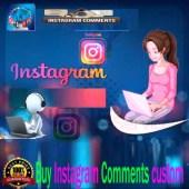 Buy Instagram Comments custom