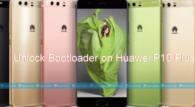 How to Unlock Bootloader on Huawei P10 Plus