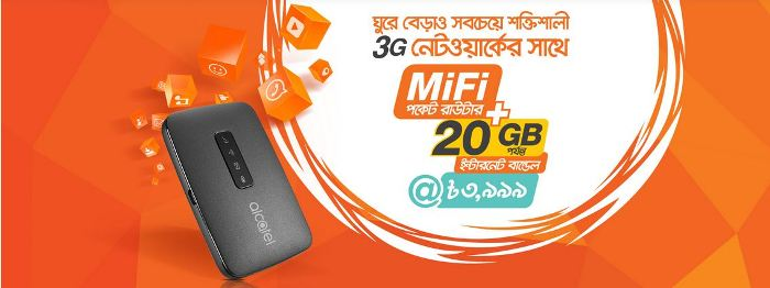Alcatel Router Available In Bangladesh