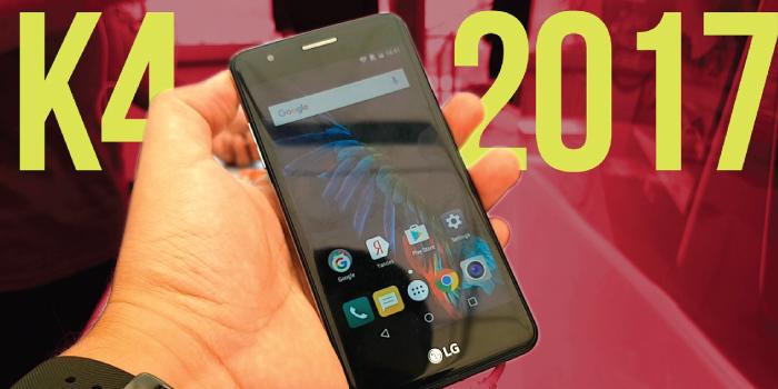 LG K4 2017 Smartphone