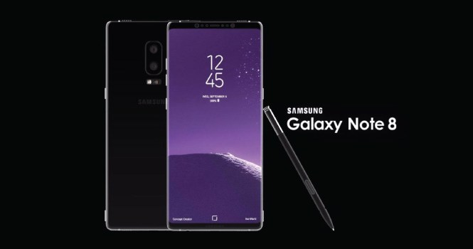 Samsung Galaxy Note 8 coming in August