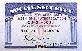 Buy Social Security card at cheap rates