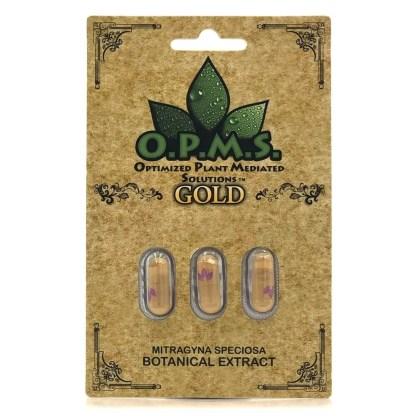 opms kratom extract 3 count capsules