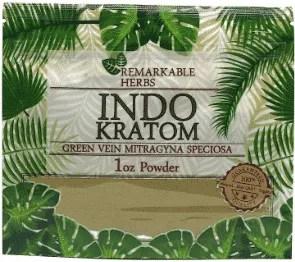 Remarkable Herbs Indo Kratom 1oz