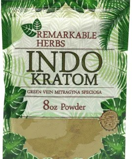 Remarkable Herbs Indo Kratom 8oz