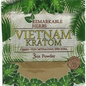 Remarkable Herbs Vietnam Kratom 3oz
