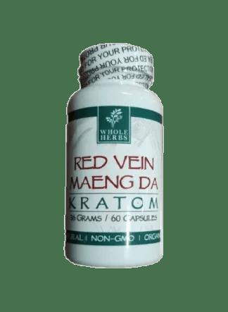 whole herbs red vein maeng da