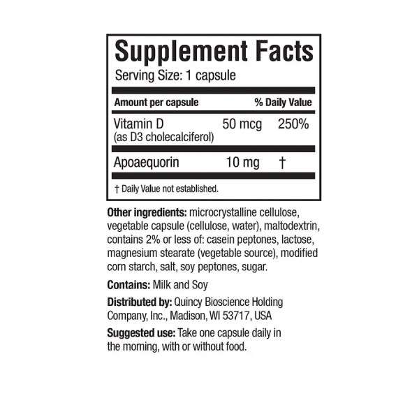 RS Supplement Facts
