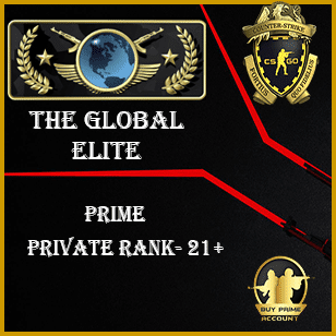CSGO Global Elite Account