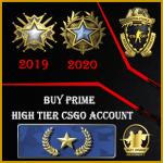 gold nova 1 high tier csgo account