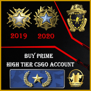 gold nova 1 high tier csgo account