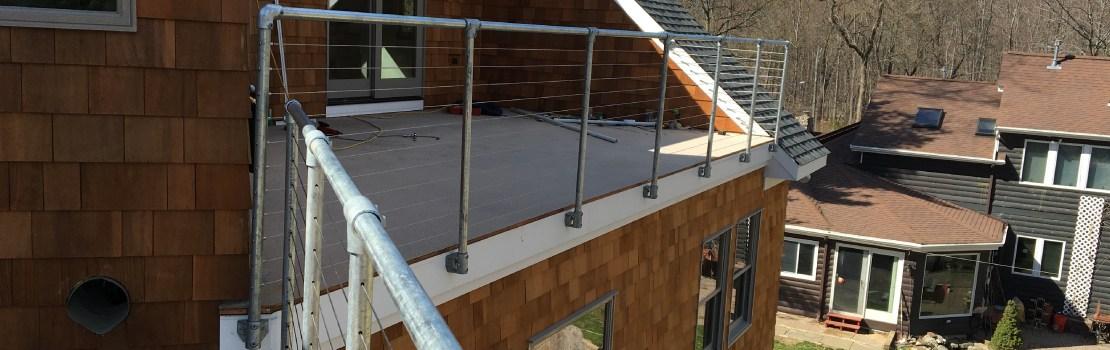 ᑕ❶ᑐ Galvanized Railing Galvanized Steel Railing   Galvanized Pipe Stair Railing   Garden   Plumbing Pipe   Water Pipe   Box Pipe   Deck