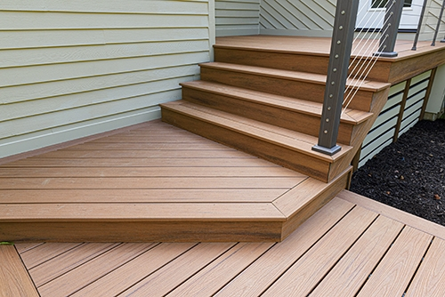 ᑕ❶ᑐ Home Wooden Railing Design Ideas For Your Inspiration   Outdoor Wood Stair Railing   Child   Stair Inside   Staircase   Natural Wood   Build In