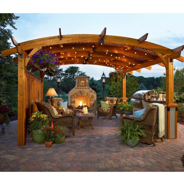 Three Great Redwood Pergola Designs Buy Redwood