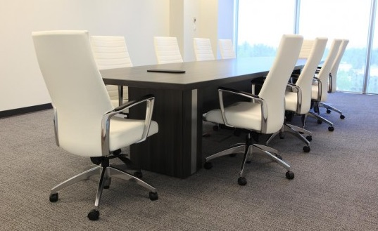 MD Table with White Chairs